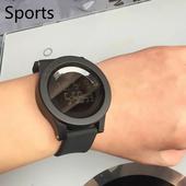 Уникален мъжки ежедневен часовник с много удобна за носене верижка