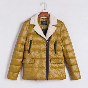 Γυναικείο χειμωνιάτικο πολύ ζεστό μπουφάν με μάλλινη φόδρα - 6 χρώματα