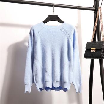 Топъл зимен пуловер за дамите в семпъл дизайн и в много цветове