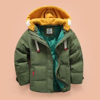 Топло зимно яке за момчета в много цветове с качулка в различен цвят