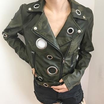 Γυναικείο μπουφάν σε σχέδιο καμουφλάζ - 3 μοντέλα