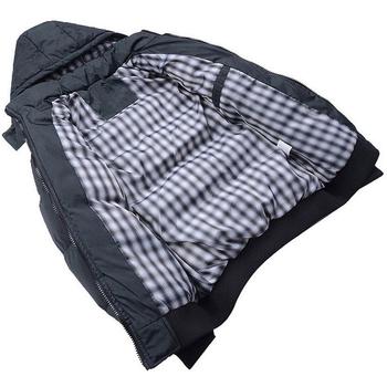 Есенно тънко мъжко яке с качулка