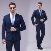 Стилен официален мъжки костюм за различни поводи