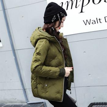 Зимно дамско яке с дебела яка в няколко цвята