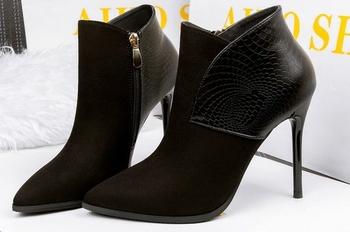 7bf6c40984a Πολύ κομψά γυναικεία κλειστά παπούτσια με ψηλό τακούνι - 3 χρώματα
