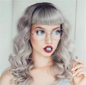Ежедневни дамски очила с прозрачни стъкла и ретро рамки
