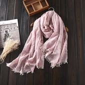 Ефирен дамски шал в свежи цветове
