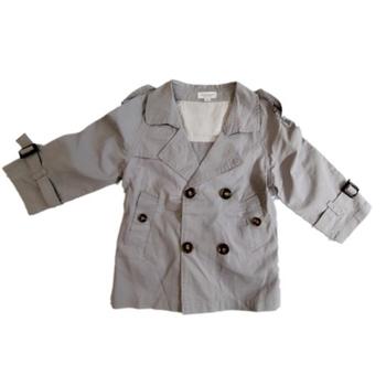 b5ca7360ab3 Παιδικό παλτό για το φθινόπωρο για αγόρια με ζώνη σε τρία χρώματα ...