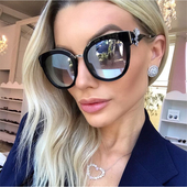 Много стилни дамски слънчеви очила - 7 цвята