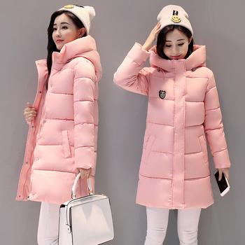 Πολύ ζεστό γυναικείο μπουφάν με μακριά μανίκια και κουκούλα σε διάφορα  χρώματα 0020160f26f