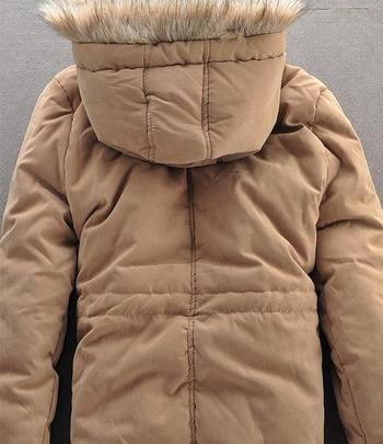 Стилно дебело яке за мъжете с качулка в четири цвята