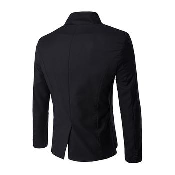 Екстравагантно мъжко сако с асиметрична дължина в три цвята