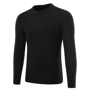 Семпъл мъжки пуловер в три цвята