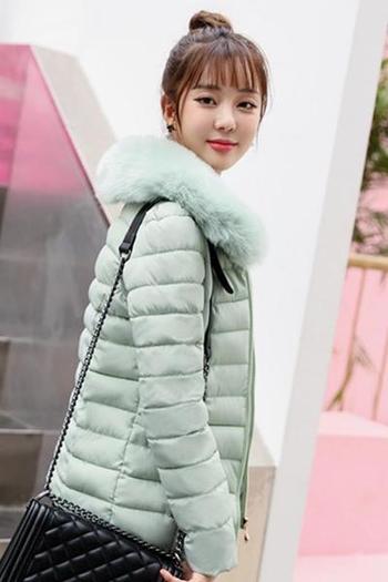Γυναικείο χειμωνιάτικο μπουφάν σε μερικά χαριτωμένα χρώματα