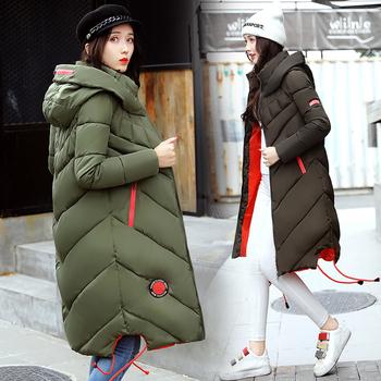 Ζεστό  γυναικείο μπουφάν με κουκούλα σε διάφορα χρρώματα