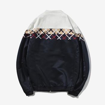 Ανδρικό μπουφάν για το  φθινοπώρο σε τρία χρώματα