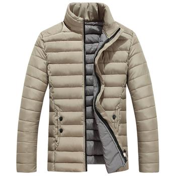 Ανδρικό μπουφάν για το φθινόπωρο και για το χειμώνα σε κομψό μοντέλο