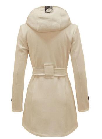 Модерно дамско палто за зимата - няколко цвята