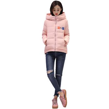 Αθλητικό χειμερινό γυναικείο μπουφάν ασύμμετρου μήκους