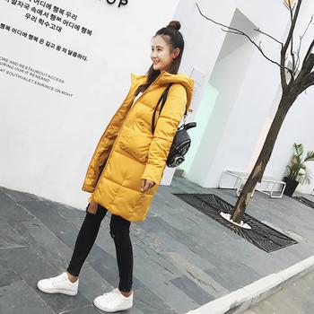 Дълго дамско яке в семпъл дизайн в различни цветове