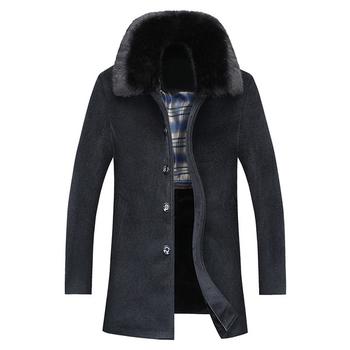 Υπέροχο ανδρικό παλτό μεγούνα -  2 χρώματα
