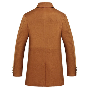 Ζεστό αντρικό παλτό, κατάλληλο για κάθε μέρα-3 χρώματα