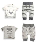 Детски комплект за момчета и момичета - панталон + тениска