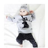Сладък бебешки комплект - клин + блуза