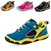 Спортни детски маратонки за момчета и момичета с лепенки в различни цветове