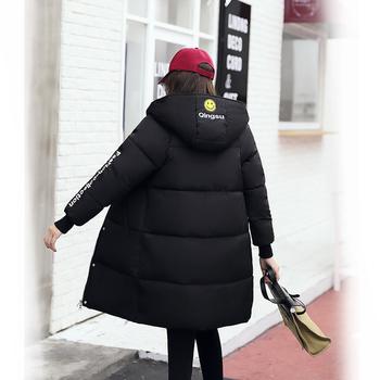 Κομψό χειμωνιάτικο γυναικείο μπουφάν σε διάφορα χρώματα και σε μακρύ μοτίβο