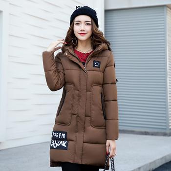 Ново дамско яке в дълъг модел с качулка и в много цветове