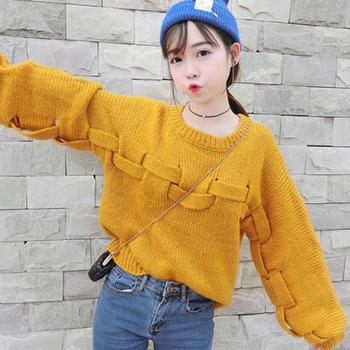 Ежедневен дамски пуловер, подходящ за студените дни