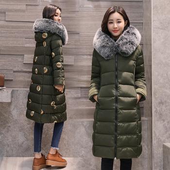 Γυναικείο χειμωνιάτικο ζεστό μπουφάν με κουκούλα