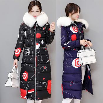 Αποτελεσματικό ζεστό μπουφάν για το χειμώνα με γούνα