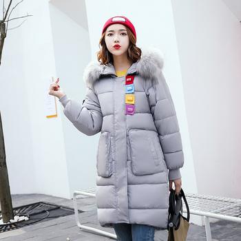 Γυναικείο μπουφάν με χνουδωτή κουκούλα και σε πολλά διαφορετικά χρώματα