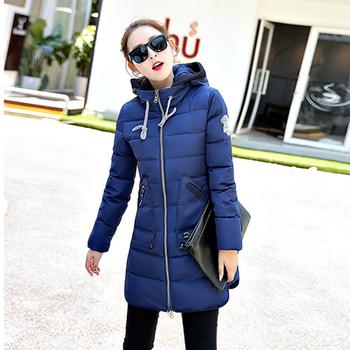 Актуално зимно яке за дамите с качулка и големи практични джобове