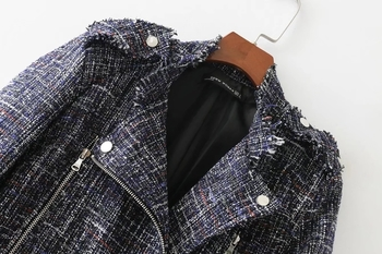 Κομψό γυναικείο μπουφάν για το  φθινοπώρο σε στυλ ρετρό