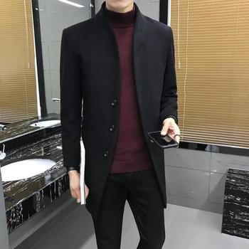 Ανδρικό κομψό παλτό σε 5 διαφορετικά χρώματα