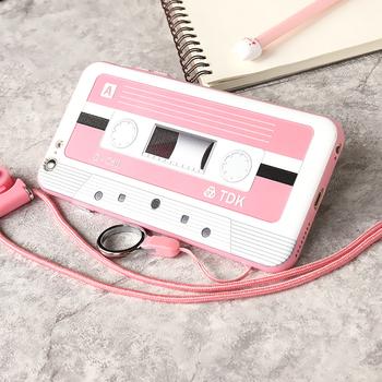 Нестандартен кейс тип стара аудио касета , за моделите Iphone 6-6S