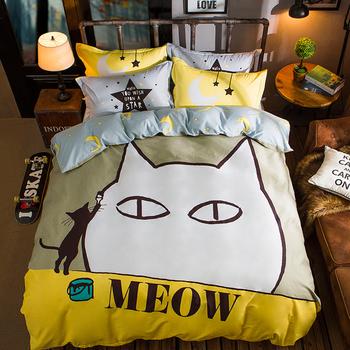 Спално бельо с анимационни изображения в два размера и различни разцветки