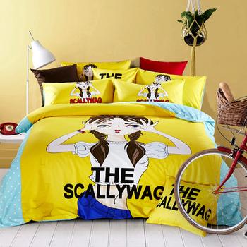 Анимационен спален комплект в четири размера и голям избор от цветове