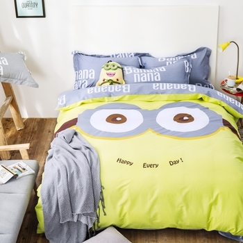 Сладко спално бельо с анимационни изображения в много цветове