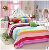 Цветни спални комплекти в три размера
