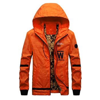 Ανδρικό μπουφάν για το φθινόπωρο με κουκούλα σε 4 διαφορετικά μοντέλα