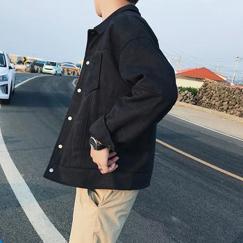Κομψό ανδρικό κοντό παλτό σε τρία χρώματα