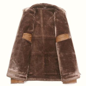 Κομψό, ανδρικό  παλτό με ζεστή επένδυση