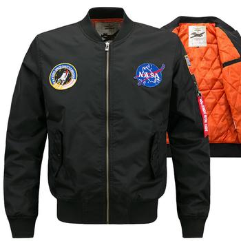 Ανδρικό άνετο μπουφάν με ραφές της NASA, 3 μοντέλα