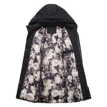 Αδρικό χειμωνιάτικο μπουφάν με αφράτη κουκούλα- 5 χρώματα