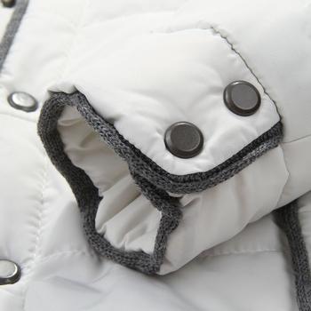 Ανδρικό χειμωνιάτικο μπουφάν  μει ζεστή μάλλινη επένδυση, 2 χρώματα