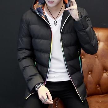 Ανδρικό  ζεστό χειμωνιάτικο μπουφάν με απαλή κουκούλα και μαλακή γέμιση